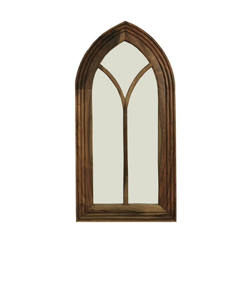 Jali tall gothic mirror quality indian and oak furniture for Mirror questions