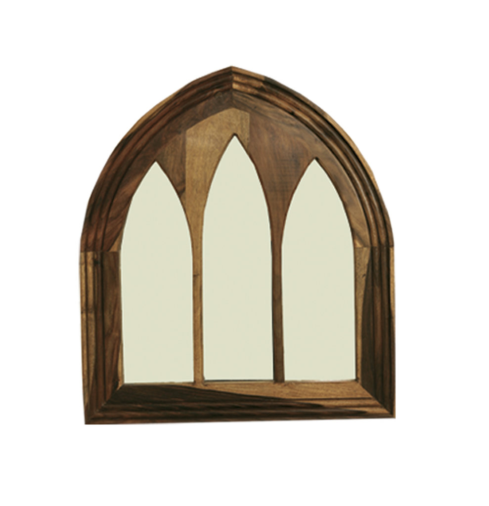 Jali wide gothic mirror quality indian and oak furniture for Mirror questions