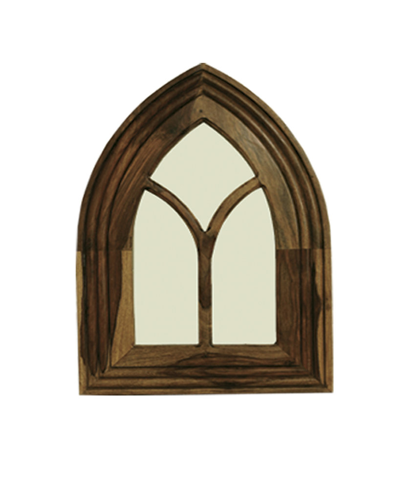 Jali Small Gothic Mirror