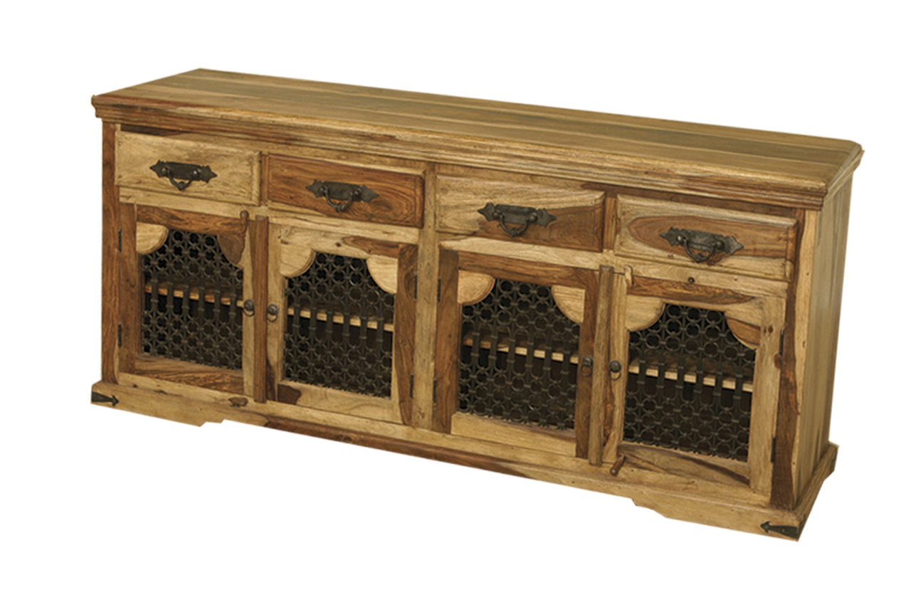 Jali 4 Door Sideboard