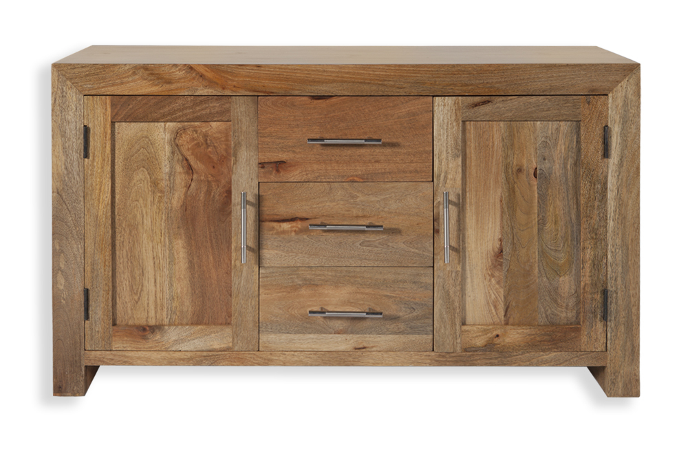 Cuba Mango 2 Door 3 Drawer Sideboard