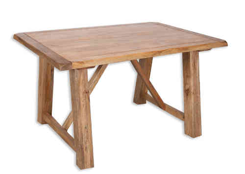 Odisha 1 35 Dining Table Quality Indian and Oak Furniture