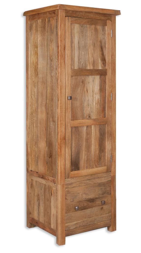 Odisha 1 Door Wardrobe - Quality Indian and Oak Furniture