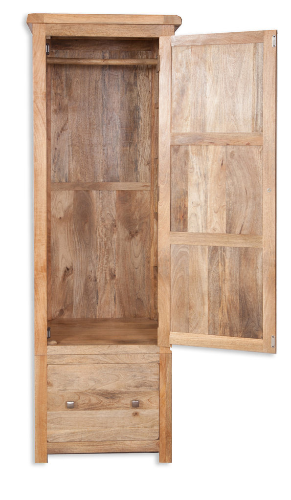 Odisha 1 Door Wardrobe - Quality Indian and Oak Furniture