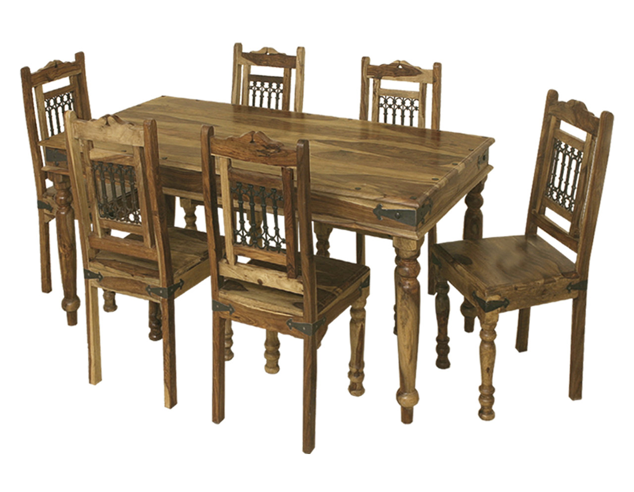 *SPECIAL* Jali 1.75 Table + 6 Jali Chairs