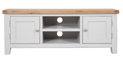 French Grey Plasma TV Cabinet
