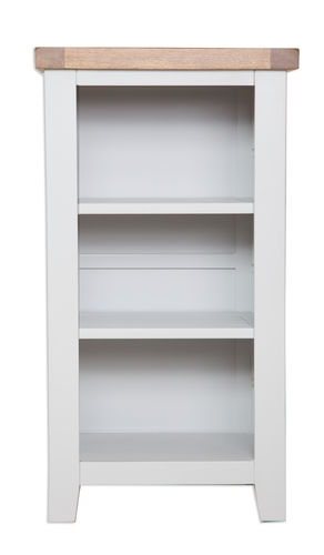 French Grey Small Bookcase/DVD Rack