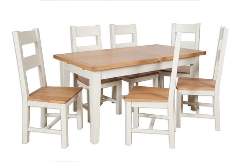 Melbourne Ivory Large Extending Table