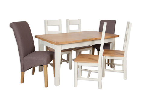 Melbourne Ivory 1.2m Extending Table