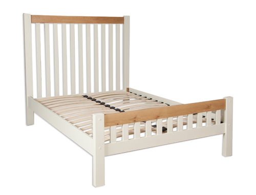 Melbourne Ivory Double Bed