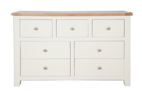Melbourne Ivory 7 Drawer Chest