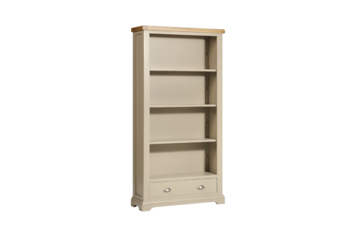 Melbourne Truffle Large Bookcase